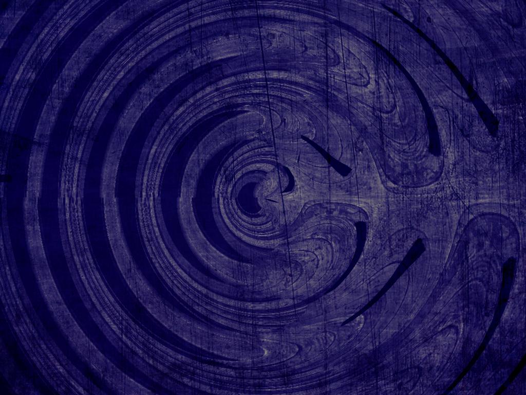 Purple swirl design