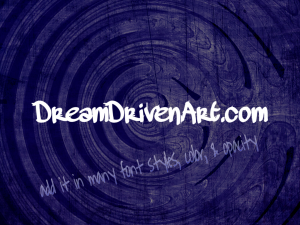 purple swirl example text