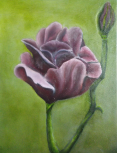 oil painting flowers part 2 glazing