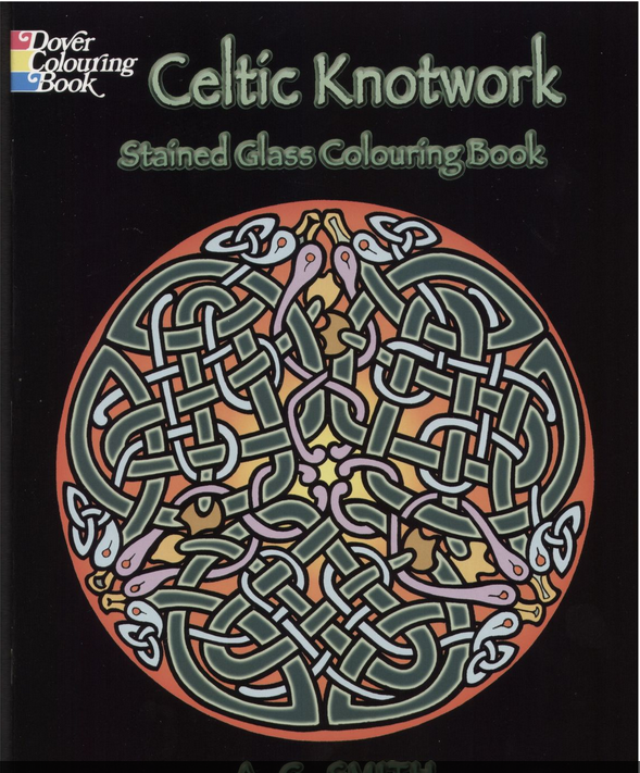 celtic coloring books adults