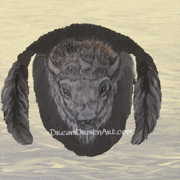 Buffalo Head Drawings -Part 2