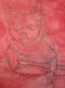 the-black-cat-underpainting
