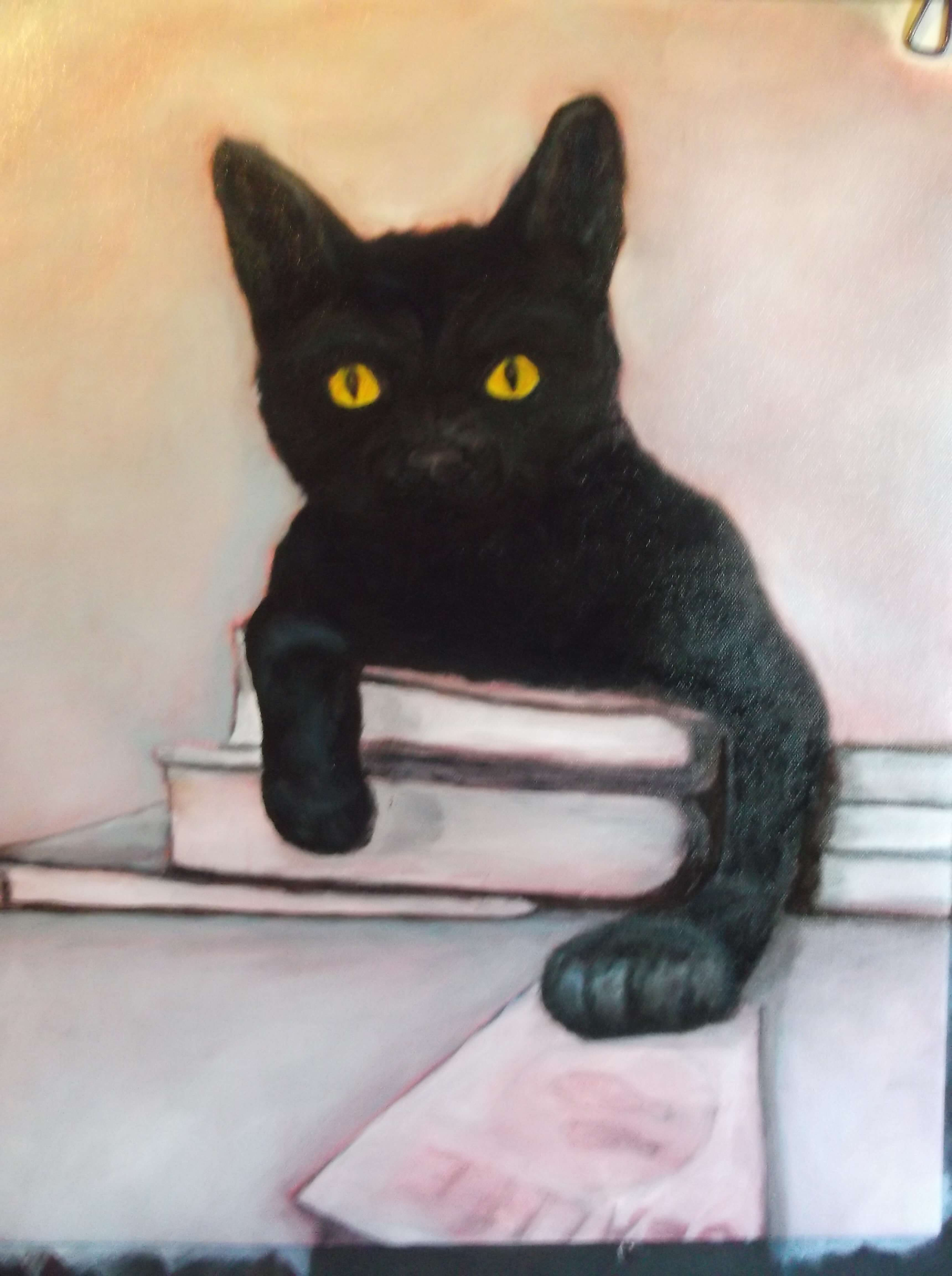 black-cat-art-painting-the-eye-color