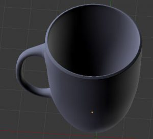 basic 3d coffee cup project