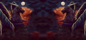 Double Twilight Storm Dragon mirror fx