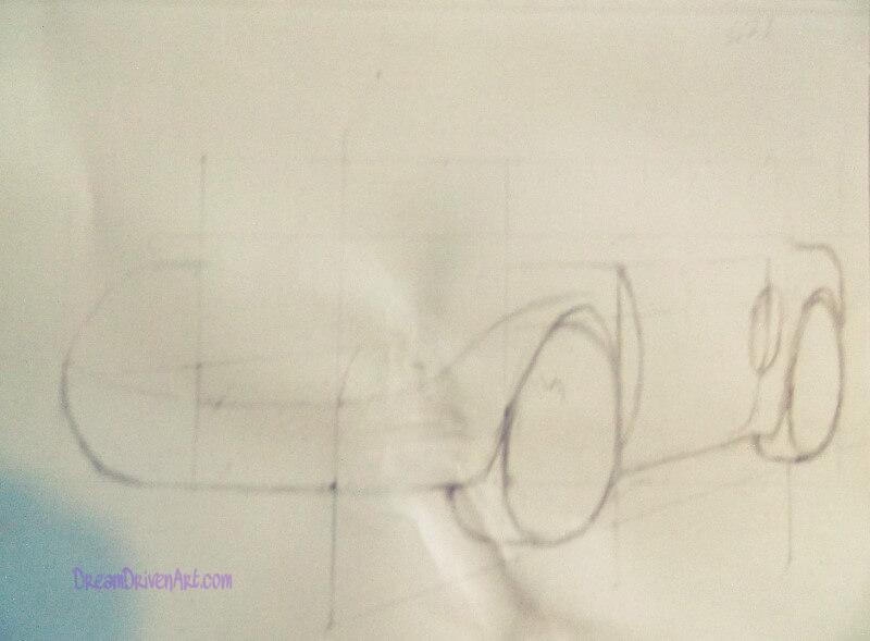 drawing a car sketch 1